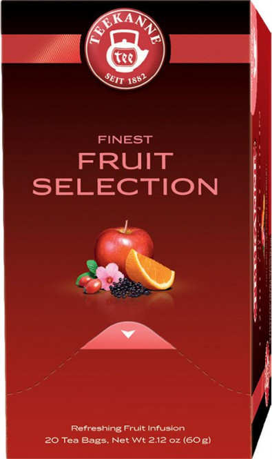 TEEKANNE Fruit Selection 20x3g