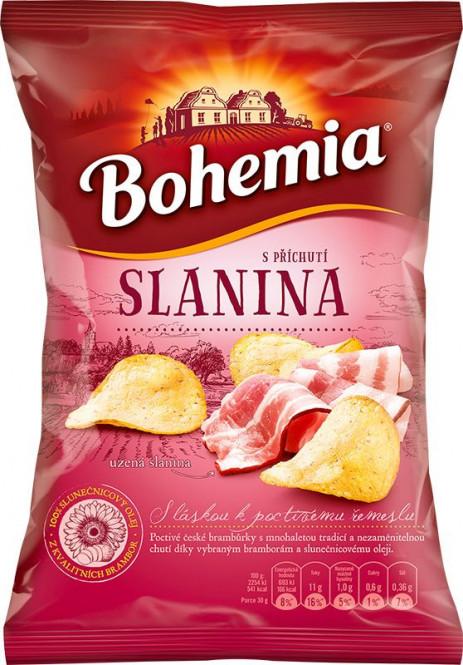 Bohemia chips slanina 70g
