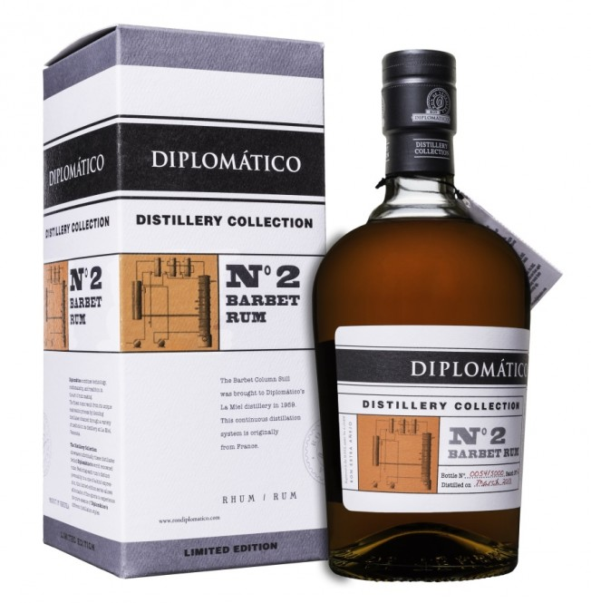 Diplomático Distillery Collection No.2 Barbet Rum 0,7l