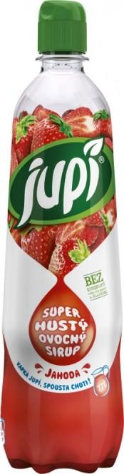 Ovocný sirup JUPÍ superhustý jahoda 0,7l - PET