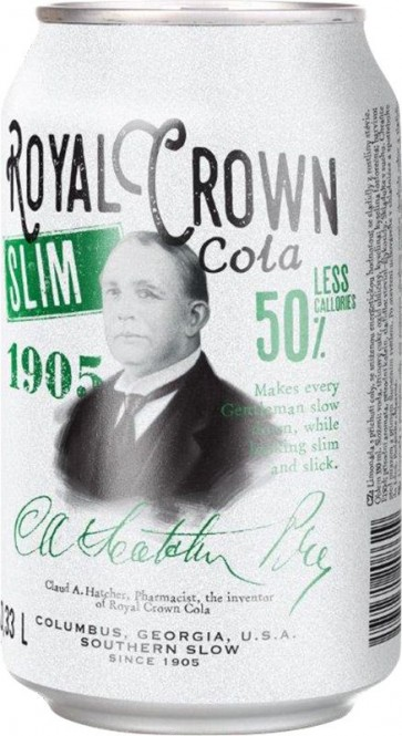 Royal Crown Cola Slim 0,33l plech