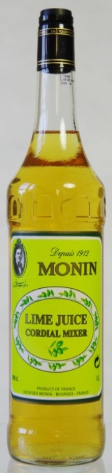 Monin Lime Juice - limetková šťáva 1l