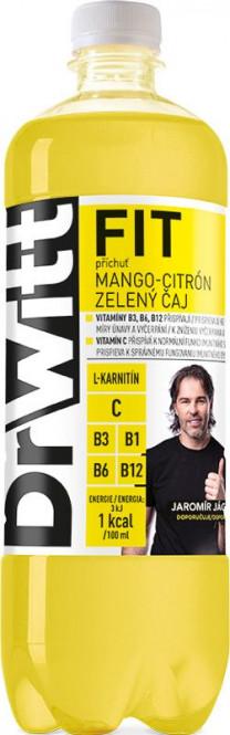 DrWitt Fit mango, citron & zelený čaj 0,75l - PET