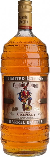 Captain Morgan Spiced Gold Barel 1,5l