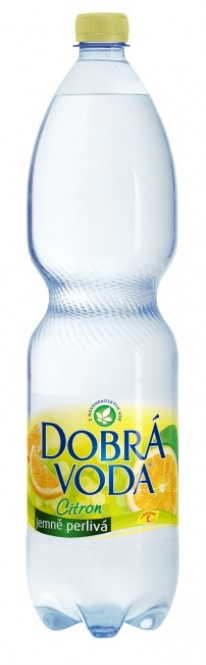 Dobrá voda Citron 1,5l - PET