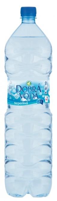 Dobrá voda neperlivá 2l - PET