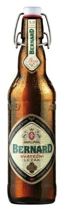 Bernard Sváteční ležák 0,5l - vratná lahev