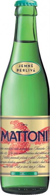 Mattoni jemně perlivá 0,33l sklo - vratná láhev