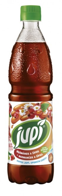 Ovocný sirup JUPÍ heřmánek a šípek 0,7l - PET