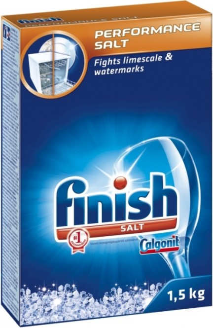 Finish salt - sůl do myčky 1,5kg