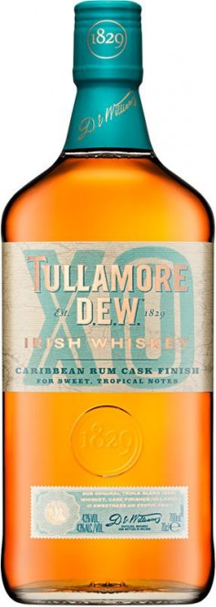 Tullamore DEW XO Caribbean Rum Cask Finish 0,7l