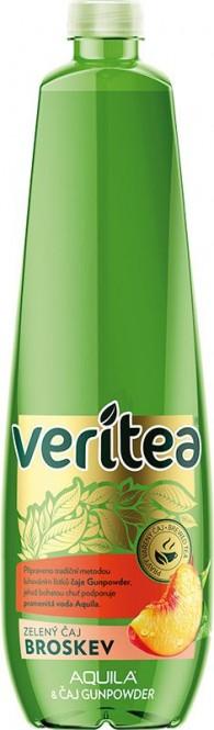 Veritea zelený čaj s broskví 1,25l - PET