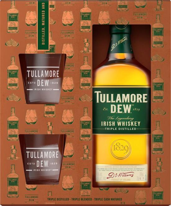Tullamore DEW Original 0,7- kazeta 2 skleničky