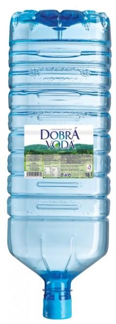 Dobrá voda neperlivá 18l - barel PET