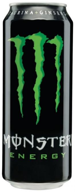 MONSTER energy 0,5l plech