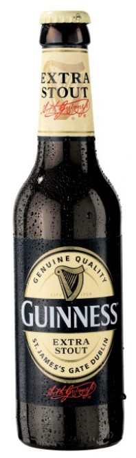 Guinness Extra Stout 0,33l sklo