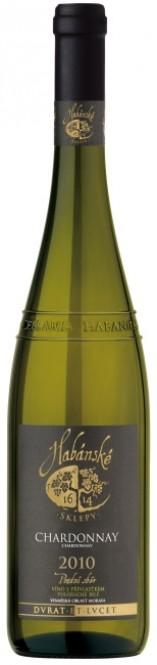 Chardonnay 0,75l pozdní sběr - Habánské sklepy