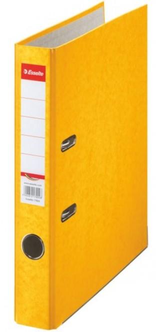 Pořadač pákový Esselte Economy A4/50mm - žlutý
