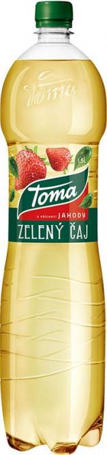 Toma čaj zelený jahoda 1,5l - PET