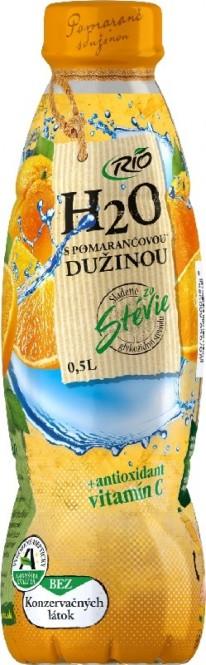 RIO H2O s pomerančovou dužinou 0,5l PET