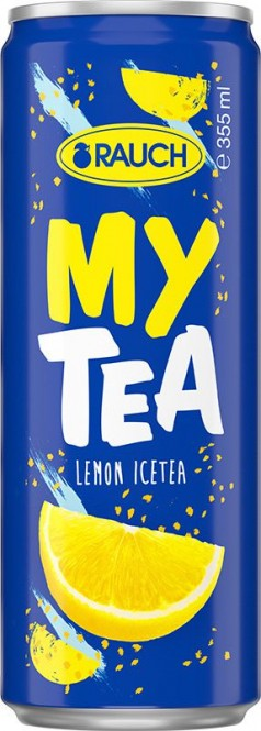 Rauch ICE TEA lemon 0,355l - plech