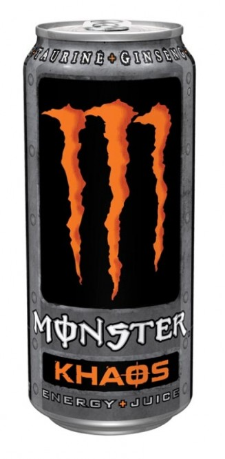 MONSTER energy Khaosr 0,5l plech