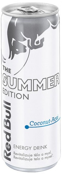 Red Bull Summer Edition Coconut 0,25l plech