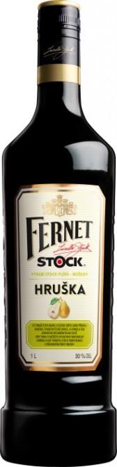 Fernet Stock s hruškou 1l