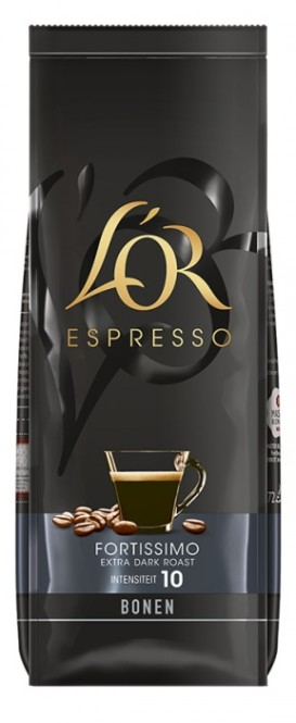 Douwe Egberts L´OR Espresso Fortissimo 500g zrno