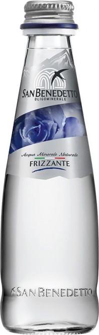 San Benedetto perlivá voda 0,25l - sklo