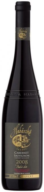 Cabernet Sauvignon 0,75l pozdní sběr - Habánské sklepy