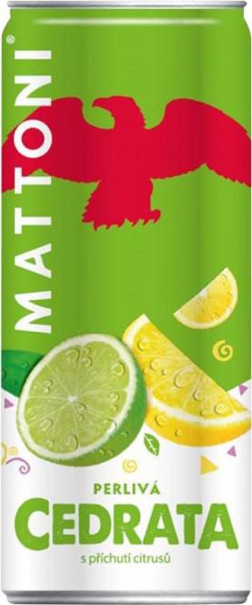 Mattoni cedrata 0,5l - plech