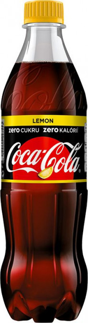 Coca cola ZERO lemon 0,5l - PET