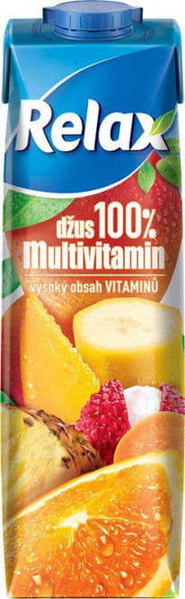 Relax multivitamin 100% 1l