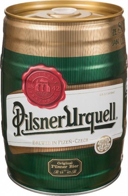 Pilsner Urquell 5l - soudek
