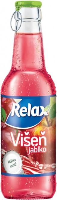 Relax Višeň 0,25l sklo
