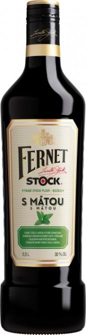 Fernet Stock s mátou 0,5l