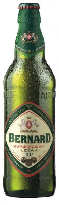Bernard Kvasnicový světlý ležák 0,5l - vratná lahev (20 ks)