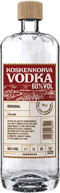 Koskenkorva Vodka 60% 1l