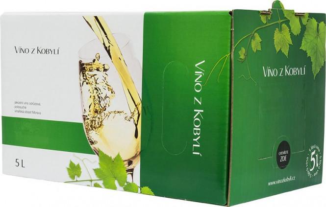 Sauvignon 5l box - Patria Kobylí