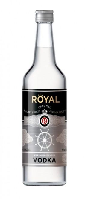 Vodka 0,5l - Royal