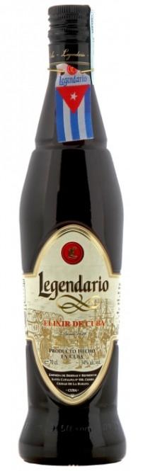 Legendario Elixir De Cuba 7 let 0,7l