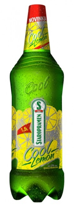 Staropramen cool lemon 1,5l - PET (6 ks)
