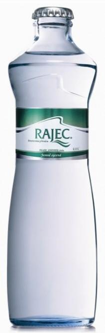 Rajec jemně sycená 0,33l sklo - vratná lahev