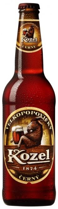 Velkopopovický Kozel černý 0,5l - vratná lahev