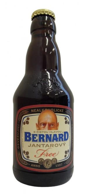 Bernard Free Jantar 0,33l - vratná lahev (20 ks)