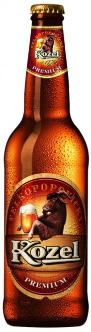 Velkopopovický Kozel Premium 0,5l - vratná lahev