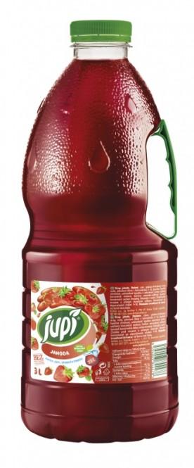 Ovocný sirup JUPÍ jahoda 3l - PET