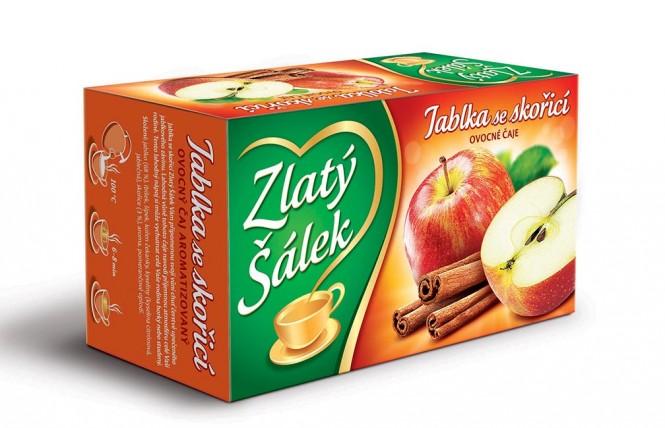 Zlatý Šálek Jablka se skořicí 20x1,75g