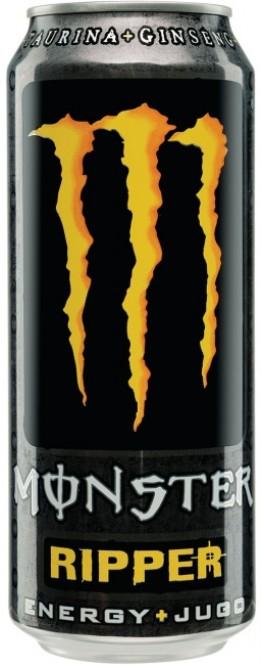 MONSTER energy Ripper 0,5l plech